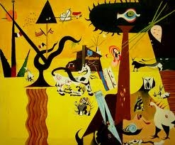 Joan Miro-The Tilled Field