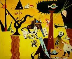 Joan Miro-The Tilled Field