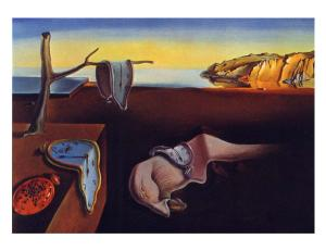 Salvador Dali-The Persistence of Memory